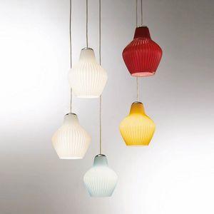 London Ls602-025, Lámpara de suspensión en vidrio coloreado