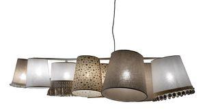 Margò SE638B, Araña con varias lámparas con diferentes fantasías