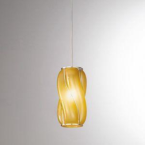 Orione Rs385-020, Lámpara de suspensión con líneas sinuosas