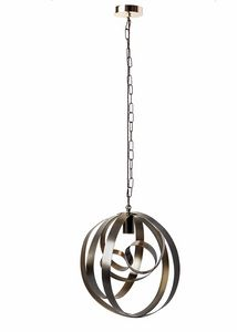 Rodin araña, Lámpara colgante, hecho a mano, en hierro curvado