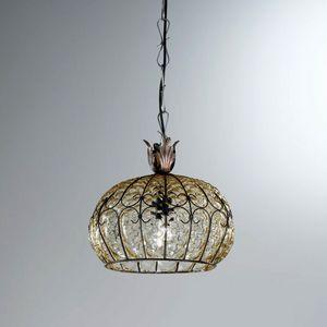 San Tomà Ms413-025, Lámpara clásica en vidrio balonon