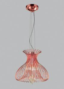 SILHOUETTE Ø 40, Lámpara de suspensión con vidrio soplado de Murano
