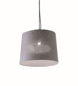 Sky SE620B SE621B, Lámparas colgantes en metal perforado blanco lacado