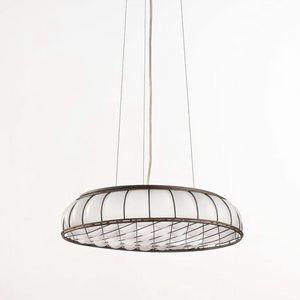 Soffice Ms441-010, Lámpara colgante en vidrio soplado blanco