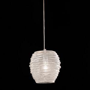 Sydney Ls607-025, Lámpara con procesamiento de vidrio precioso