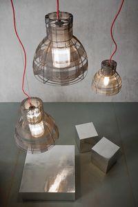 Tuli, Lámpara de suspensión trenzada de alambre de hierro