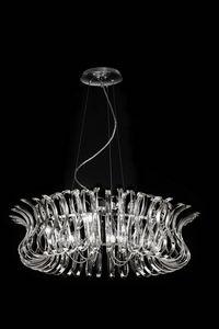 WAVE Ø 80, Lámpara de suspensión en forma de vidrio