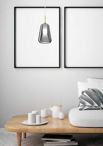 X-Ray, Lámpara de suspensión en vidrio borosilicato.