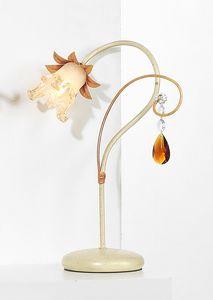 10231, Lámpara de mesa con péndulo de cristal