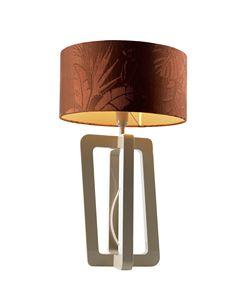 740201 Barnaby, Lámpara de mesa con pantalla cilíndrica