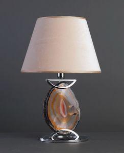 AGATA HL1033TA-1, Lámpara de mesa con ágata