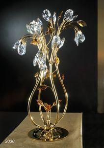 Art. 2030 Matisse, Lámpara de mesa con adornos de cristal Swarovski