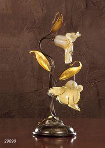 Art. 29890 Jolie, Lámpara de mesa en vidrio veneciano