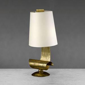 Art. 3010-04-03, Lámpara de mesa con estructura de hierro.