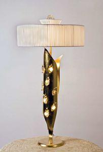 Art. 3012-11-00, Lámpara de mesa con pantalla de seda