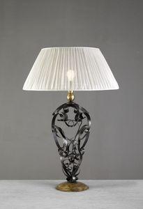Art. 3098-01-00, Lámpara de mesa con rizos de hierro