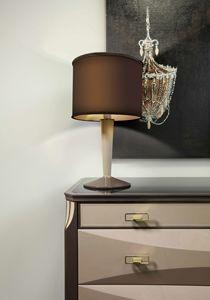 ART. 3360, Lámpara de mesa con pantalla cilíndrica