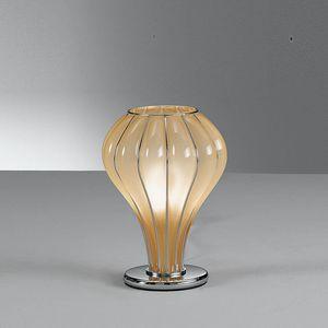 Auriga Rt403-020, Lámpara de mesa en vidrio ámbar