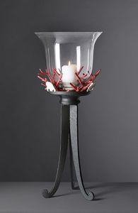 CORALLI HL1048CA, Lámpara de mesa Coral en hierro