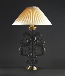 CORTINE HL1031TA-1, Lámpara de mesa en hierro forjado