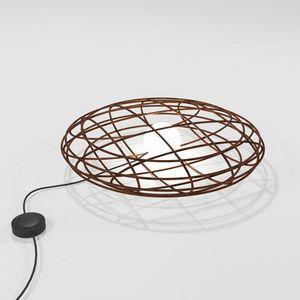 Disco, Lámpara de mesa en hierro