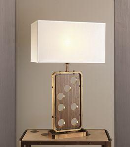 DOMINO HL1076TA-1, Lámpara de mesa con pantalla de lino