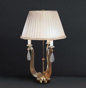 FORMELLE HL1036TA-3, Lámpara de mesa con base en ferr