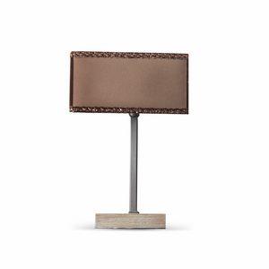 Keope Art. 1482, Lámpara de mesa con pantalla cuadrada