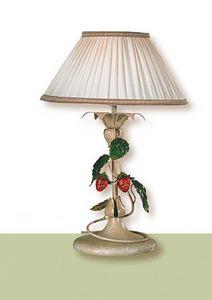 LP.8335/1/B, Lámpara de mesa con pantalla de tela
