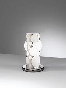 Orione Rt386-020, Lámpara de mesa moderna en forma de burbujas