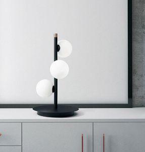 Pomì, Lámpara de mesa con 3 luces