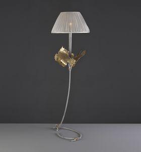 RASPO HL1073TA-1, Lámpara de mesa con hojas decorativas.