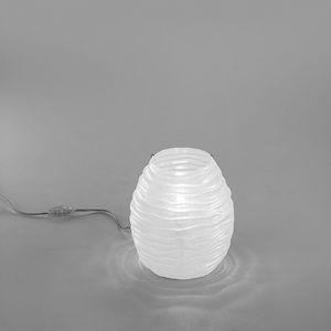 Sydney Lt607-025, Lámpara de mesa en vidrio ámbar o blanco