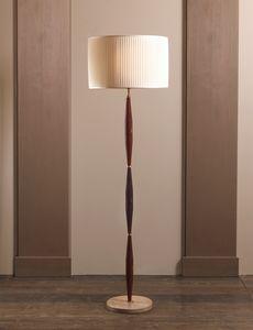AMMOS HL1006WFL-1, Lámpara de suelo en latón con pantalla
