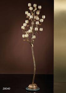 Art. 28040 Fior di Loto, Lámpara de pie hecha a mano en Italia