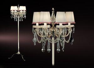 Art. Lunetta Cp, Lámpara de pie de cristal de Bohemia