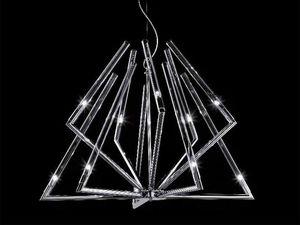 Daisy araña, Lámpara de techo con difusores de cristal