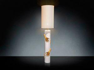 David Hands, Lámpara de cerámica artesanal