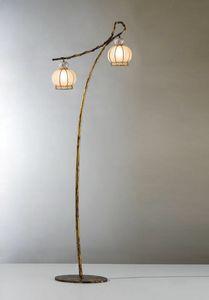 Girasole Vp199-190, Lámpara de pie con diseño oriental