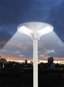 Lámpara de calle solar LED Lugar - LS040LED, Lámpara de exterior, con panel solar
