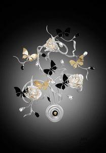 21523, Aplique con mariposas decorativas