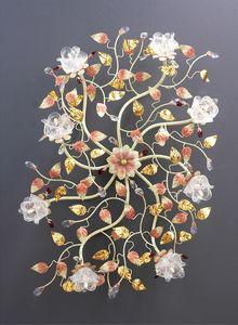 99008, Lámpara de techo con diseño floral