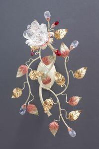 99021, Lámpara de pared con difusor en forma de flor