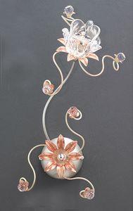 99121, Aplique con decoraciones florales