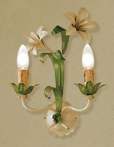 A.3545/2, Lámpara de pared en vidrio, estilo florentino