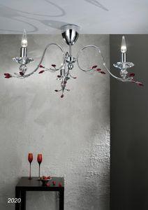 Art. 2020 Soiree, Lámpara de techo con Swarovski