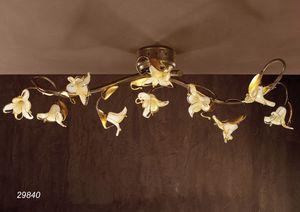 Art. 29840 Jolie, Lámpara de techo con diseño floral