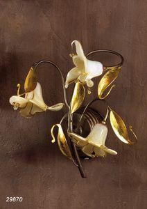 Art. 29870 Jolie, Lámpara de pared con cristal de Murano