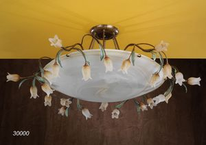 Art. 30000 Butterfly, Lámpara de techo artesanal