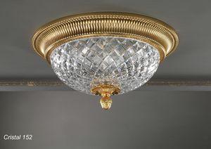 Art. CRISTAL 152, Elegante luz de techo con un diseño clásico